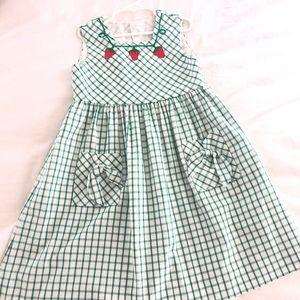 Florence eisman strawberry summer dress